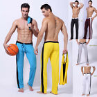 Male sports long pants/GYM/RUN/YOGA men sexy wear soft and thin breathable S M L