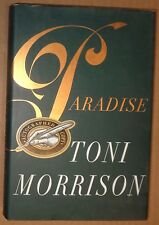 Paradise by Toni Morrison SIGNED (1997, Hardcover). Nobel Prize in Literature