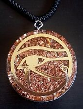Eye of Horus Orgone Pendant Generator Energy Accumulator EMF protection 6cm