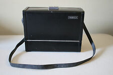 Vintage Yashica Electra 35 mm Camera with Numerous Lenses and Hard Case