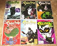 DC COMICS 6 BOOK LOT THE SPECTRE 4-5-6-7-9-10 MID HI GRADE FREE BAGGED & BOARDED