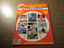BASEBALL DIGEST BEST ROOKIE ISSUE