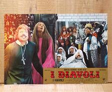 I DIAVOLI fotobusta poster affiche Ken Russell Oliver Reed Redgrave The Devils