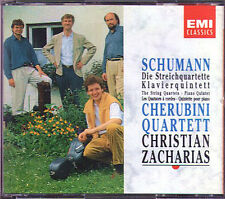 Cherubini-Quartetto & Zacharias: Schumann 3 String Quartet & Piano Quintet 2cd