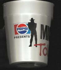 PEPSI-1988-MICHAEL JACKSON TOUR CUP-PLASTIC-JACKSON FIVE-FROM 1ST CONCERT IN KC