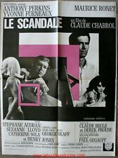 SCANDALE Affiche Cinéma / Movie Poster Anthony Perkins Claude Chabrol
