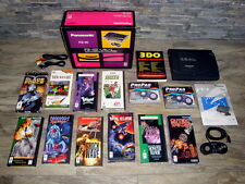 Panasonic 3DO in Box FZ-10 Boxed Games Controllers & Cabling Tested Bundle