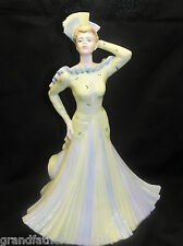 COALPORT DAVID SHILLING  COLLECTION L. A. GALA  LIMITED EDITION  LADY FIGURE