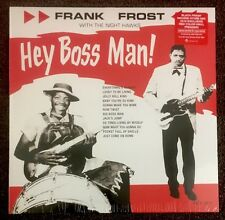 Frank Frost - Hey Boss Man! LP [Vinyl New] Limited Edition Red Color LP RSD BF