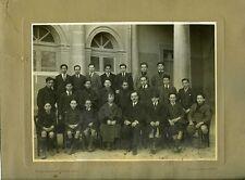 Maisons DAVID & EVALLOIS PARIS photo de classe garçons exterieur circa 1950