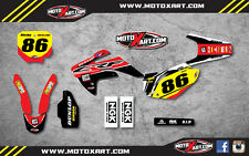 Honda CRF 150 R 2007 - 2016 Custom Graphic kit PYRO style decals / stickers