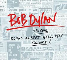 BOB DYLAN - THE REAL ROYAL ALBERT HALL 1966 CONCERT  2 VINYL LP NEU