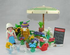Playmobil casa de muñecas villa 19 jhd. nostalgia flores stand se adapta a 5343 #34331