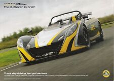 Lotus 2-Eleven 2009-10 UK Market Leaflet Sales Brochure