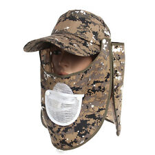 360℃ UV Protection Sun Hat Folding Fishing Neck Cover Flap Cap Outdoor