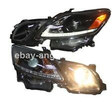 2006 to 2011 Year For Lexus GS300 GS350 GS430 GS450 LED Headlights Lamps Black