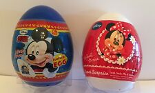 2 New Mickey And Minnie Mouse Surprise Eggs Toy Stickers Candy