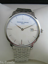 FREDERIQUE CONSTANT WATCH MENS SLIM LINE AUTOMATIC FC-306S4S6B GENUINE