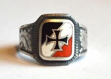 ww2 german silver ring