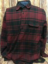 VTG Polo Sport Ralph Lauren Long Sleeve Button Pullover Flannel Shirt Plaid XL