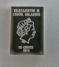 1g (1 gram) Valcambi Suisse Cook Islands .999 Fine Silver Bullion Bar