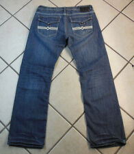 "BUFFALO ""DOVER"" E.U.C. RELAXED MEN'S PANTS DENIM BLUE JEANS. SIZE 33 INSEAM 33"