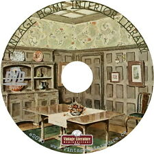 Vintage Home Interior Design Library { 98 Vintage Books } on DVD