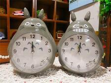 creative anime lovely My neighbor totoro children night light alarm clock voice