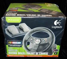Logitech NASCAR RACING WHEEL OFFICIALLY LICENSED BY NASCAR / DUAL VIBRATION!!!