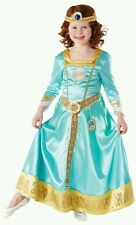 Disney Brave MERIDA, girls Fancy Dress Costume, 5-6yrs -INCLUDES free Merida WIG