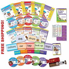Your Baby Can Read Deluxe Kit NEW ENGLISH Reading System DVD BOOK CARDS