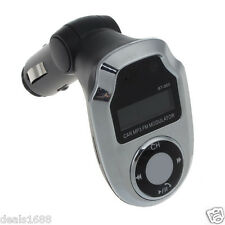 Wireless Bluetooth FM Transmitter Modulator Car Kit Charger MP3 Player Remote SD