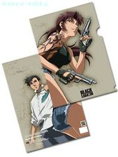 GE Animation GE26233 Black Lagoon: Revy & Rock File Folder