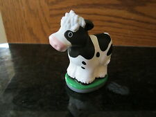 Fisher Price Little People NEW Apptivity Barnyard part farm cow bovine heffier