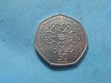 Rare british 2010 50P coin girl directeurs association 100TH anniversaire