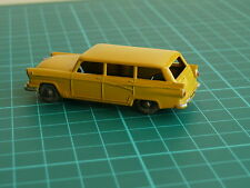 Moko Lesney Matchbox No 31 Yellow American Ford Station Wagon Vintage Diecast