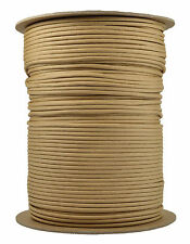 Light Tan - 550 Paracord Rope 7 strand Parachute Cord - 1000 Foot Spool