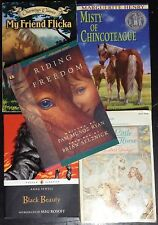 Lot of 5 Horse Stories: Beauty, Flicka, Misty, Freedom, White Horse VGC PB