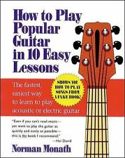 Norman Monath - How To Play Popular Guitar In (1994) - Used - Trade Paper (