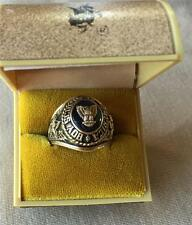 Men's Vintage 10k Gold Boy Scout of America Ring size 11 with Original Case