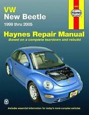 VW New Beetle 1998 thru 2005 (Haynes Repair Manual) Freund, Ken Books-Good Condi