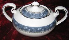 1 - Lot of 2 - Aynsley Blue Mist Covered Sugar Bowl (2017-016)
