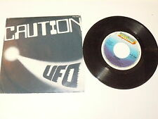 "UFO ""CAUTION"" disco 45 giri FULL TIME Italy 1981"