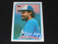 Toronto Blue Jays Cecil Fielder Signed Autograph 1989 Topps Card #541 TOUGH  S30