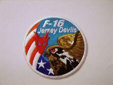 USAF PATCH F-16 JERSEY DEVILS SWIRL PATCH:GA13-1