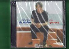 FABRIZIO DE ANDRE-DA GENOVA  CD NUOVO SIGILLATO