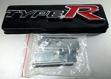 Type R Front Grill Grille Emblem Auto Car 3D Metal Logo Badge Decal Brand New