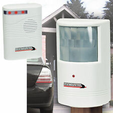 Driveway Patrol Alert Sensor wireless weatherproof Security Alarm system Deluxe