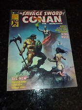 The SAVAGE AWORD of CONAN the BARBARIAN Comic - No 9 - Date 12/1975 - Marvel