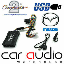 Connects2 CTAMZUSB001 Mazda 3 2006 - 2009 USB Aux In Input Car Interface Adaptor